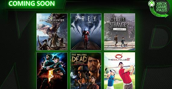 Game Pass'e Monster Hunter World ve Prey geliyor
