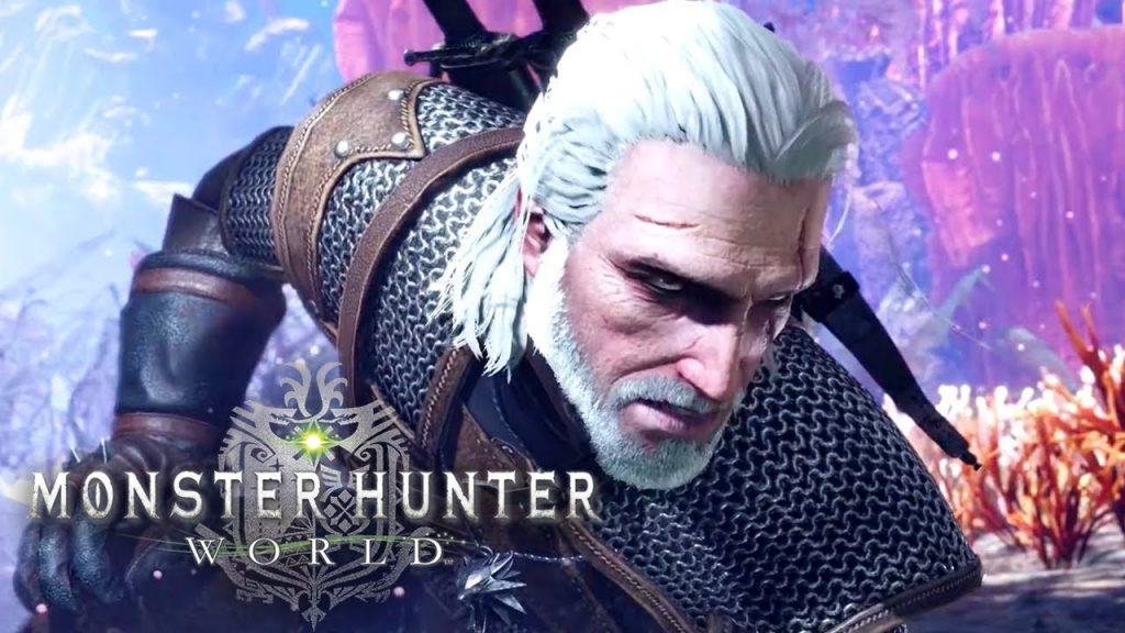 Monster Hunter World Geralt 9 Mayısta PC'ye geliyor