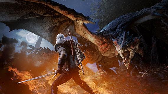 Monster Hunter World PC'ye 9 Mayısta Geralt geliyor