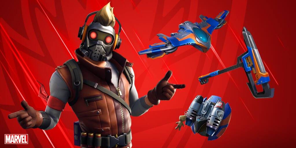 Star-Lord Fortnite'a geldi
