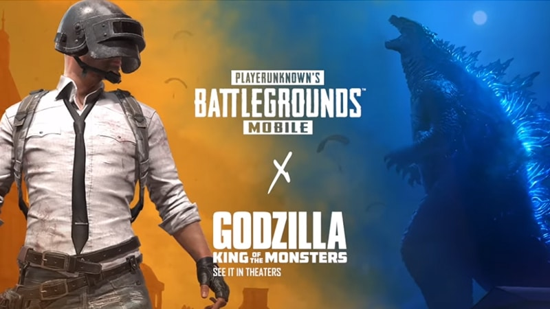 PUBG Mobile Godzilla