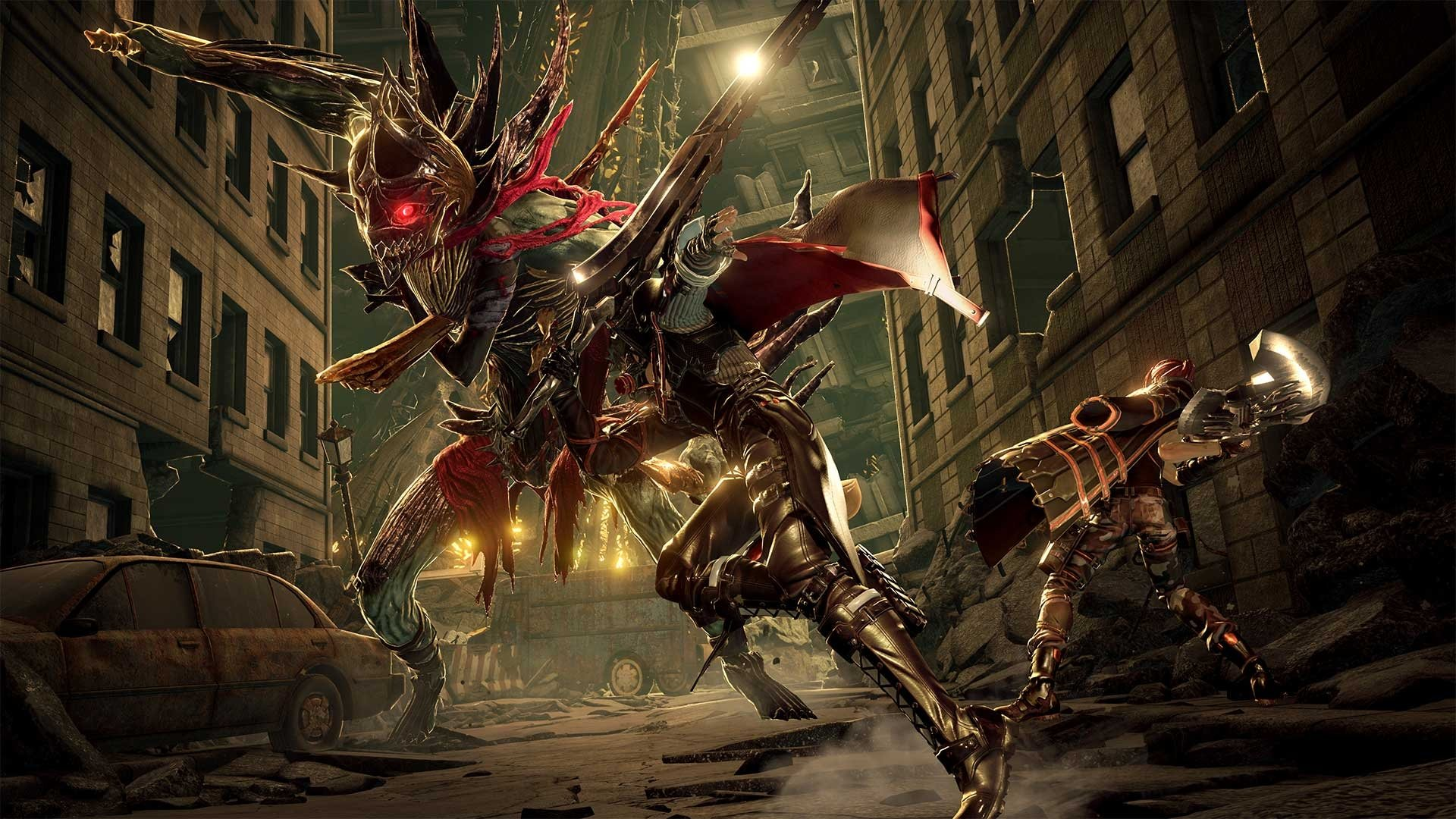 Code Vein'in DLC'