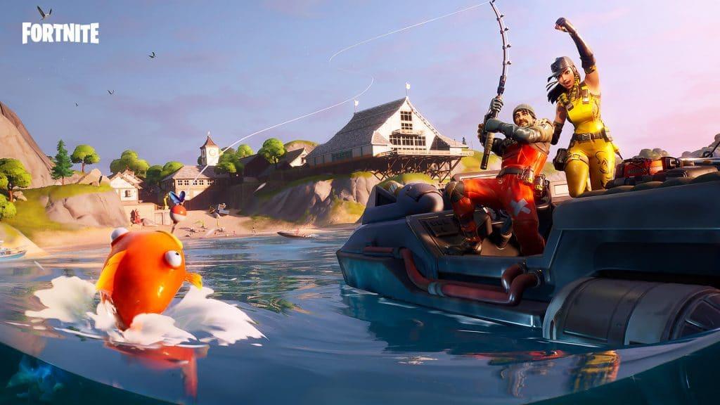 Fortnite Balıkçılık Turnuvası