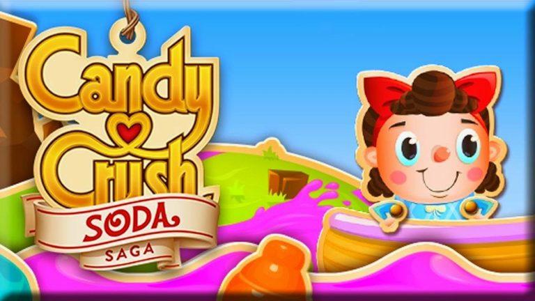 Candy Crush Soda Saga Geliri