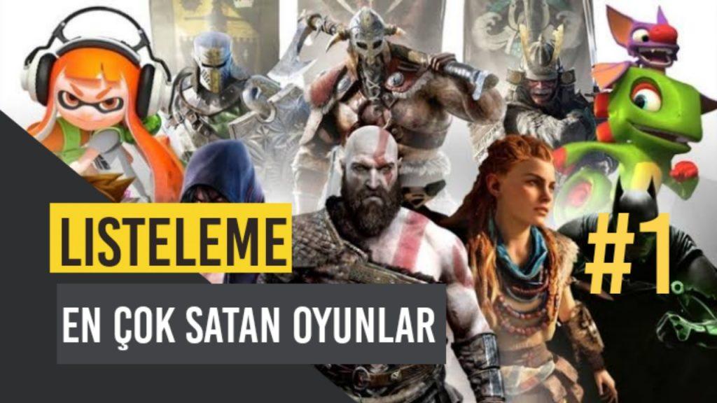 Dünyanın En Çok Satan Oyunları Listeleme