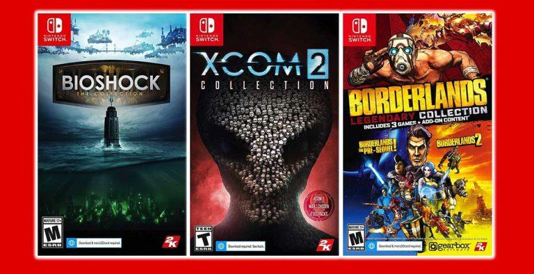 BioShock Borderlands ve XCOM Switch'e