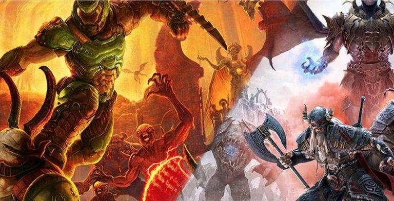 Doom Eternal ve The Elder Scrolls Online Xbox Series X