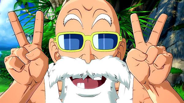 Master Roshi Dragon Ball FighterZ'ye