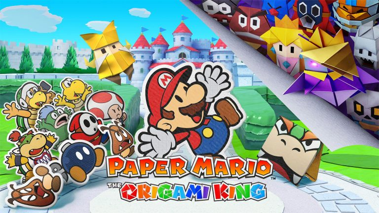 NintnePaper Mario The Origami King