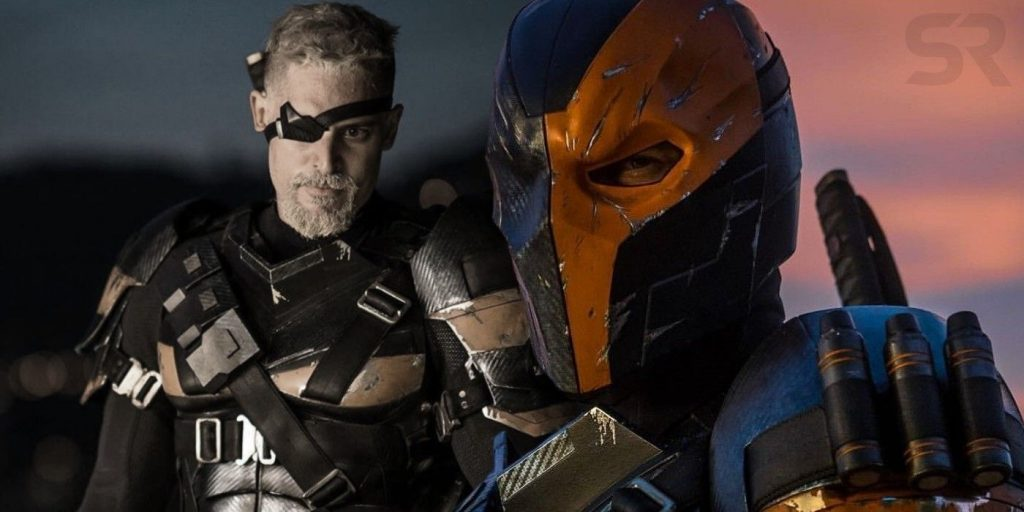 Justice League The Snyder'ta Joe Manganiello Deathstroke