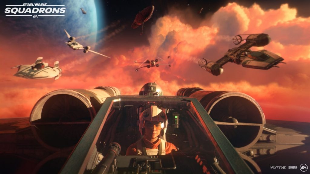 Star Wars Squadrons içerik