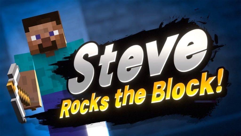 Steve Super Smash Bros