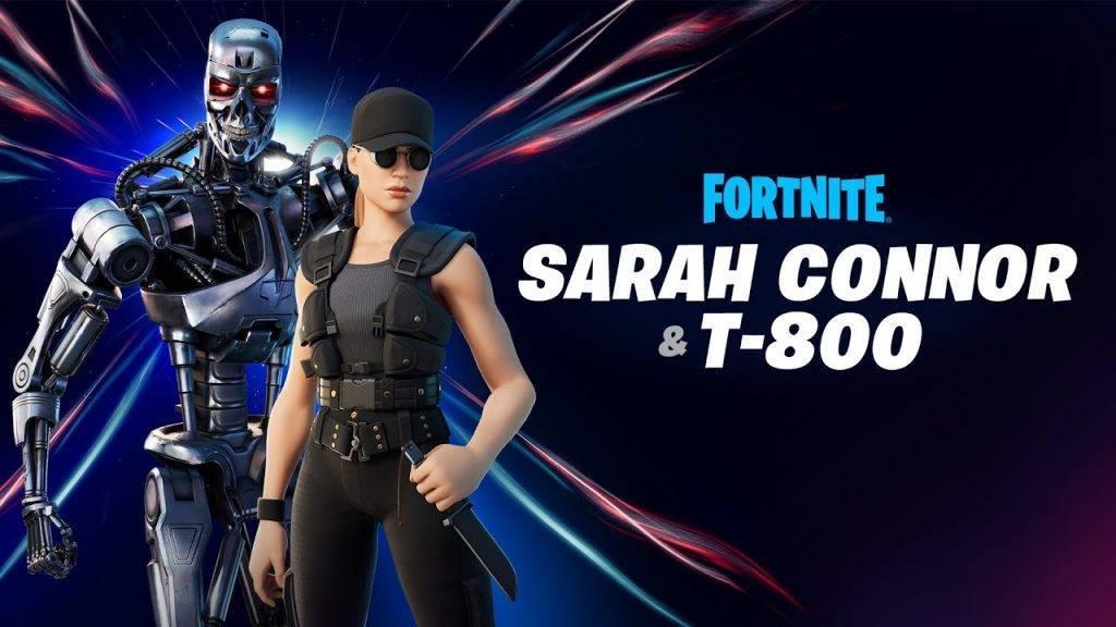 Fortnite Sarah Conner ve Terminator