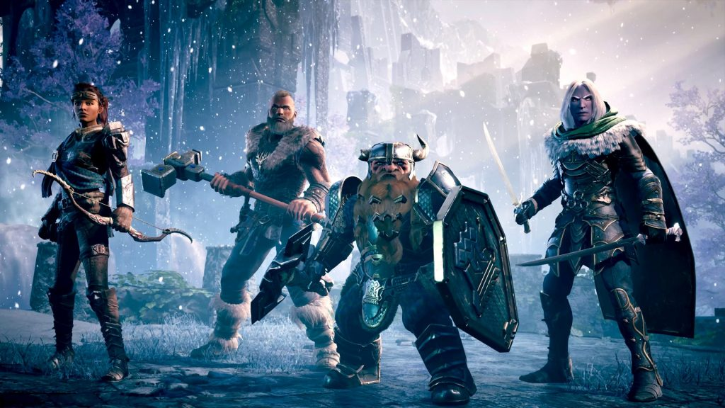 Dungeons & Dragons Dark Alliance oynanış videosu