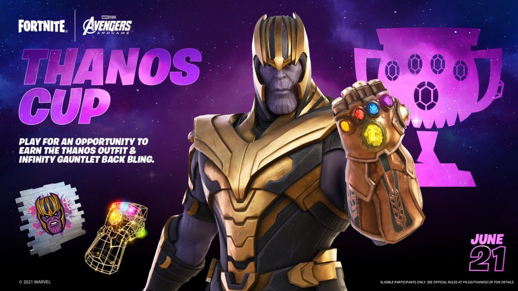 Thanos Fortnite'a geri dönüyor