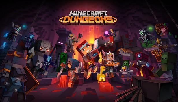 Minecraft Dungeons Steam Page